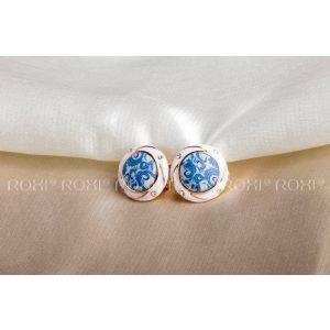 Kék romantika fülbevaló