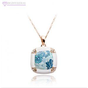Kék romantika nyaklánc