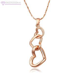 Hármas szív nyaklánc